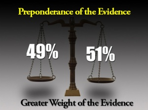 preponderance-of-the-evidence